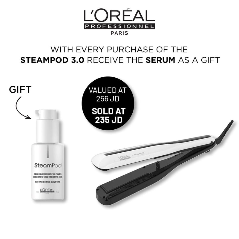 Steampod + Serum Gift Set