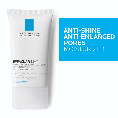 Effaclar Mat 40ML+ Anthelios Shaka Fluid SPF50+ 50ML + Effaclar Gel 15ML (gift)