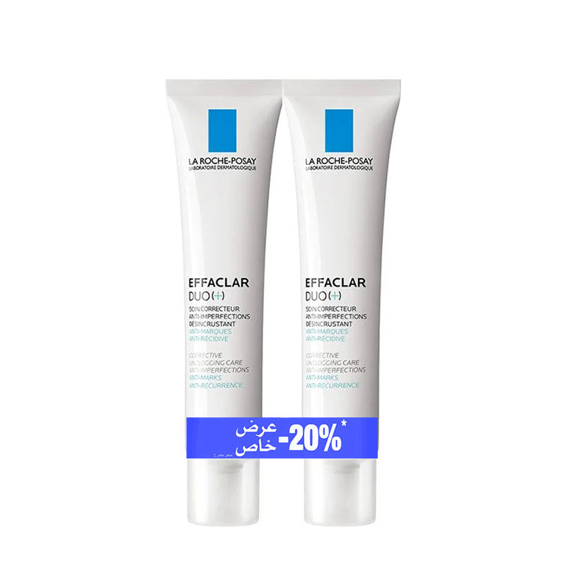 -20% Dual Pack: x2 Effaclar Duo (+) 40ML