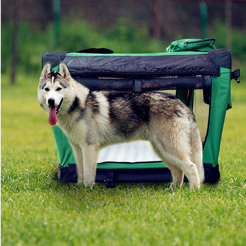 2017 New Pipe and 1000D Oxford Tent Large Dog Beds Outdoor Removable Folding Pet Beds Practical and Convenient Dog Beds - Doggy Dog Supplies