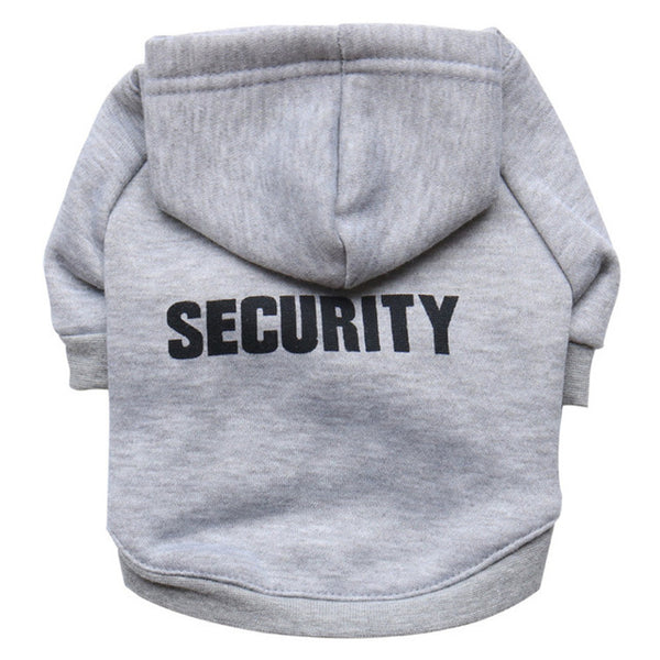 Dog Security Hoodie - Doggy Dog Supplies