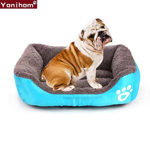 Dog Beds Mats Soft Warming Fleece Dog Beds for Large Dogs Cats Waterproof Pet Bedding Luxury Dogs Beds for Pets Puppy Plus size - Doggy Dog Supplies