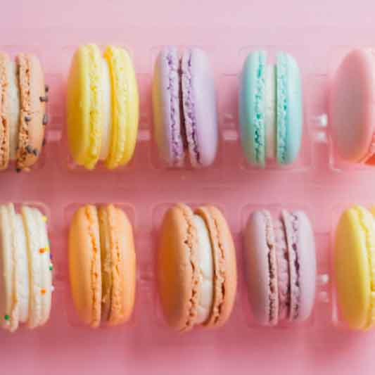 macarons shipped online