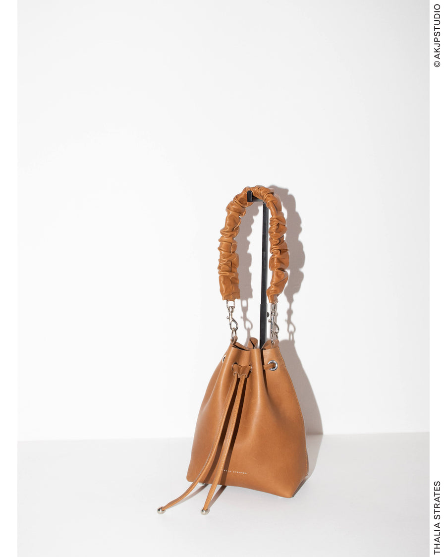 THALIA STRATES: The Mini Bucket Bag