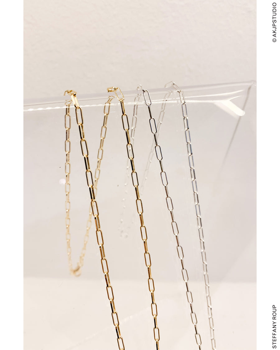 STEFFANY ROUP: Paperclip Necklace