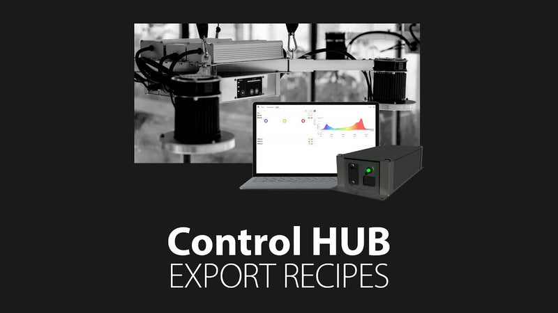 Software Tutorial - How to import, export and delete Light Recipes/Schedules