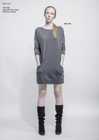 sweatshirt-dress wo-119