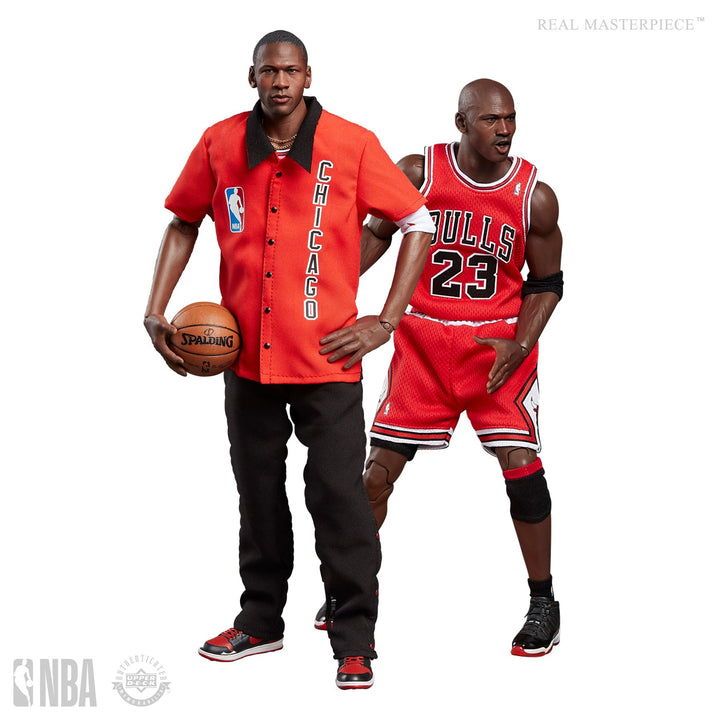 Enterbay 1:6 Michael Jordan The Final (Limited Edtion) - Away Version