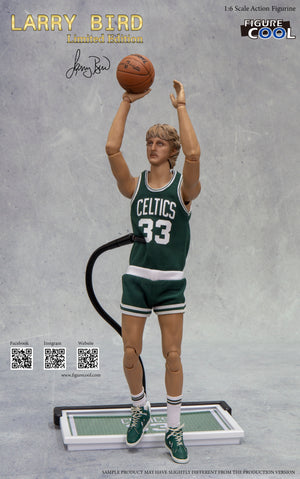 1:6 Larry Bird Limited Edition Action Figurine (1980s Verison)