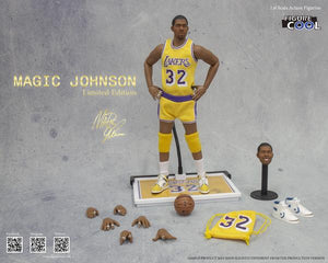 1:6 Magic Johnson Limited Edition Action Figure (1980s Verison)