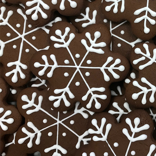 Gingerbread Snowflake