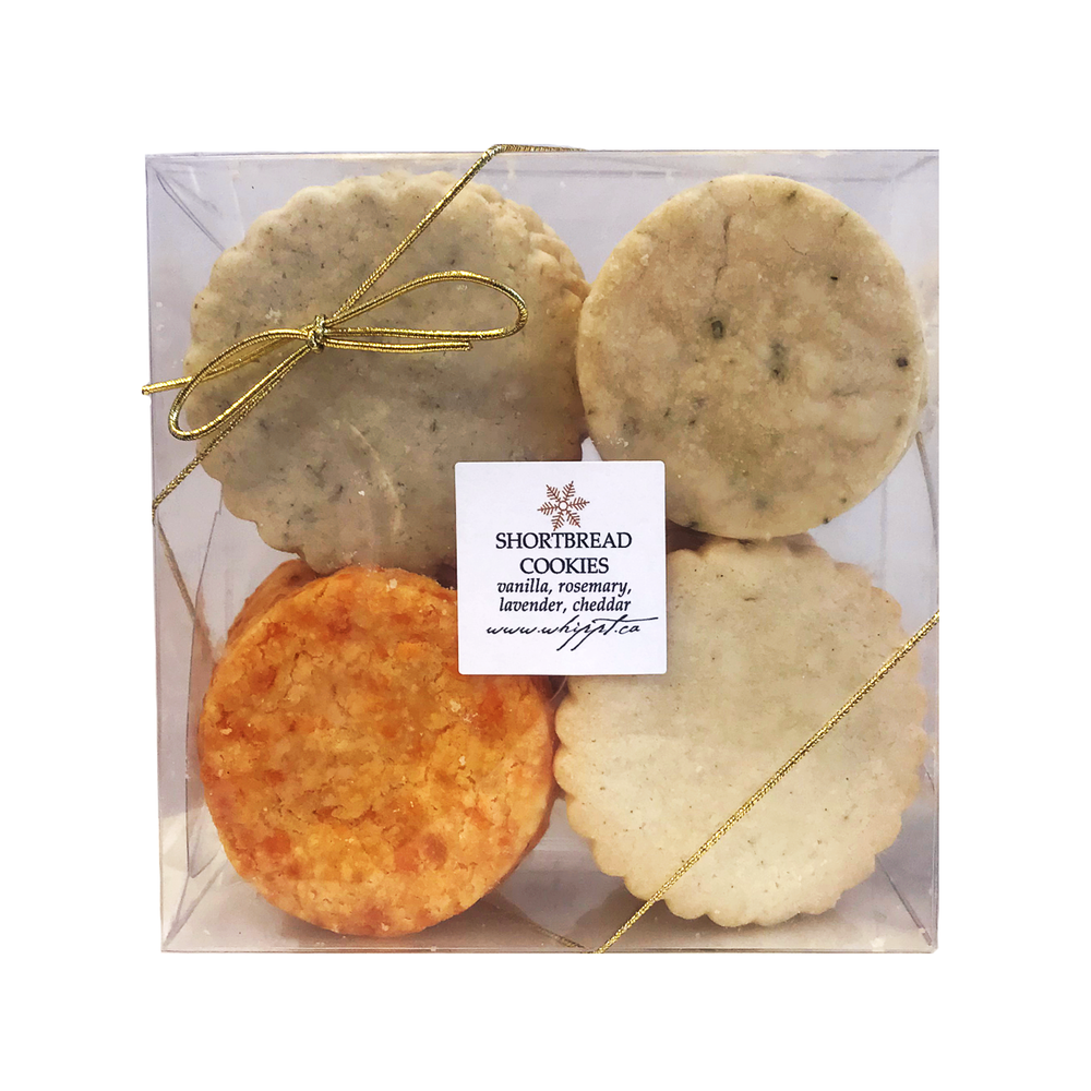 Assorted Shortbread Cookie Pack