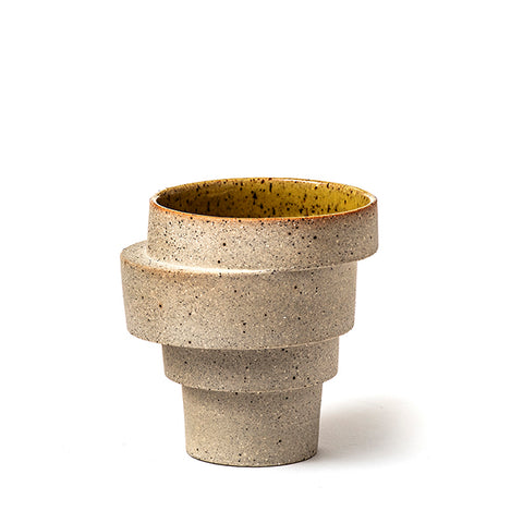 The stacked cup - unglazed (model 2)