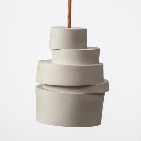 The stacked lamp
