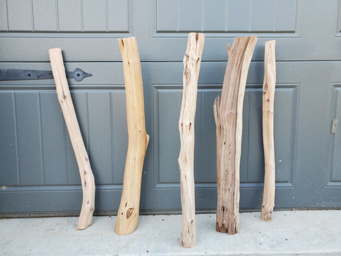 Manzanita Forest Logs Set of 4 Free Shipping