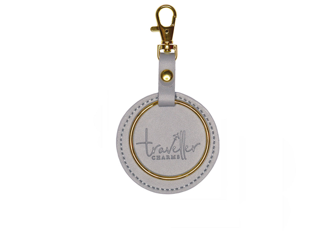 GOLD Key Chain - Grey - Traveller Charms