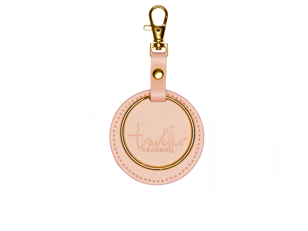 GOLD Key Chain - Nude - Traveller Charms
