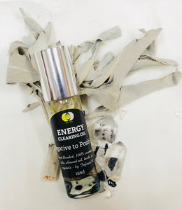 Energy Clearing Oil - NEGATIVE to POSITIVE