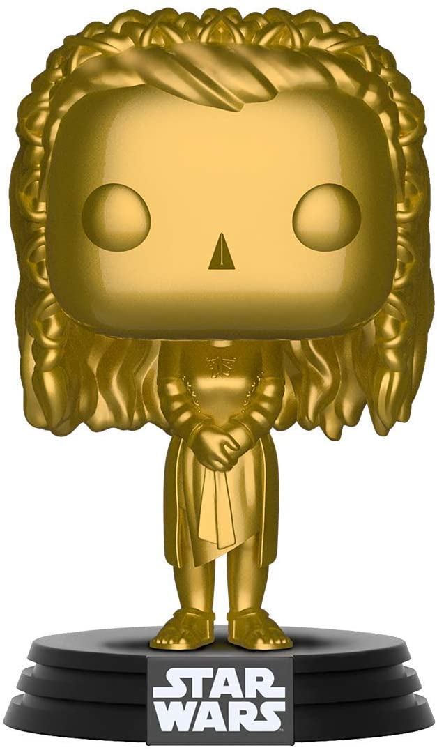 POP! Star Wars Princess Leia Gold Vinyl Figure #287 Exclusive - Limited Retailer Edition