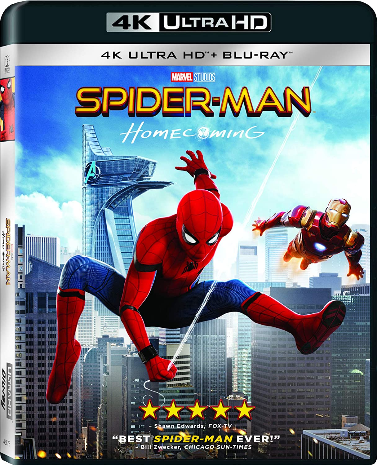 Spider-Man Homecoming 4K Front.Jpg