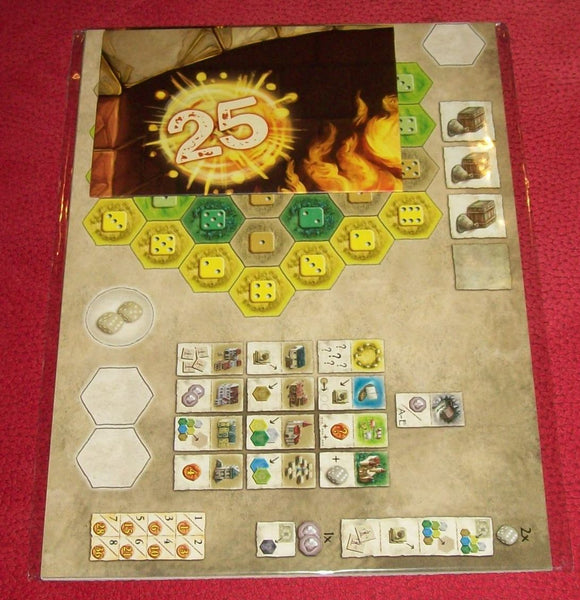 The Castles Of Burgundy The Team Game Components.Jpg