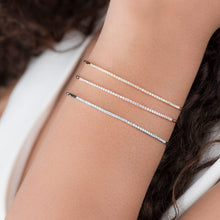 Load image into Gallery viewer, Classic Diamond Cuff Bracelet - estellacollection