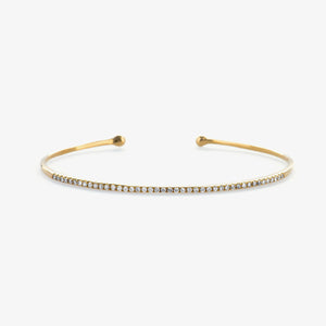 Classic Diamond Cuff Bracelet - estellacollection