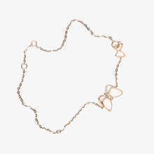 Load image into Gallery viewer, Diamond Butterfly Bracelet With Pearls - estellacollection