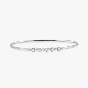 Diamond Bangle Bracelet - estellacollection