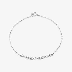Diamond Chain Bracelet, Adjustable - estellacollection