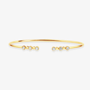 Diamond Cuff Bracelet - estellacollection