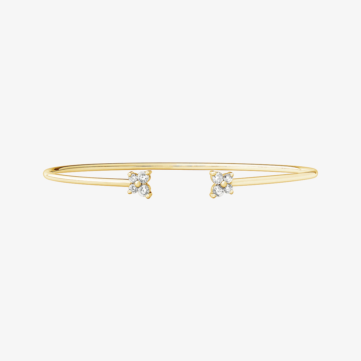 Linea - Diamond Cuff Bracelet - estellacollection