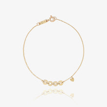 Load image into Gallery viewer, 14K Solid Gold Love Initial Bracelet - estellacollection