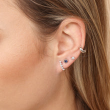 Load image into Gallery viewer, Thick Huggie Hoop cuff Earring | 14k Gold | Upper Ear Piercings