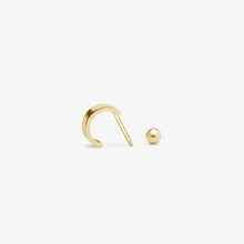 Load image into Gallery viewer, Mini Huggie Cuff Hoop Earring | 14k Gold | Gifts For Women