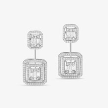 Load image into Gallery viewer, Dangle Drop Diamond Earrings - estellacollection