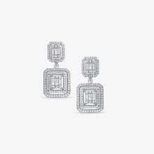Load image into Gallery viewer, 1.94CT Dangle Drop Diamond Earrings - estellacollection