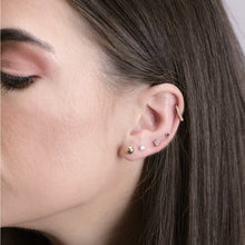 Load image into Gallery viewer, Lara - Gold Ball Stud Earrings - estellacollection