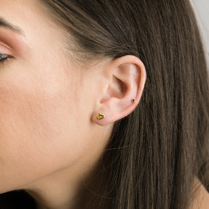 Lara - Petite  Black Onyx Studs - estellacollection
