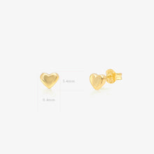 Load image into Gallery viewer, Lara - Plump Heart Studs - estellacollection