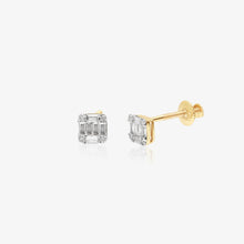 Load image into Gallery viewer, Diamond And Gold Earring - estellacollection