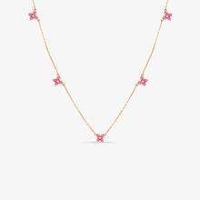 Load image into Gallery viewer, Linea - Nature Inspired Tourmaline Necklace - estellacollection
