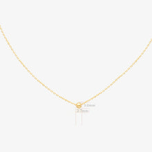 Load image into Gallery viewer, Gold Ball Chain Necklace - estellacollection