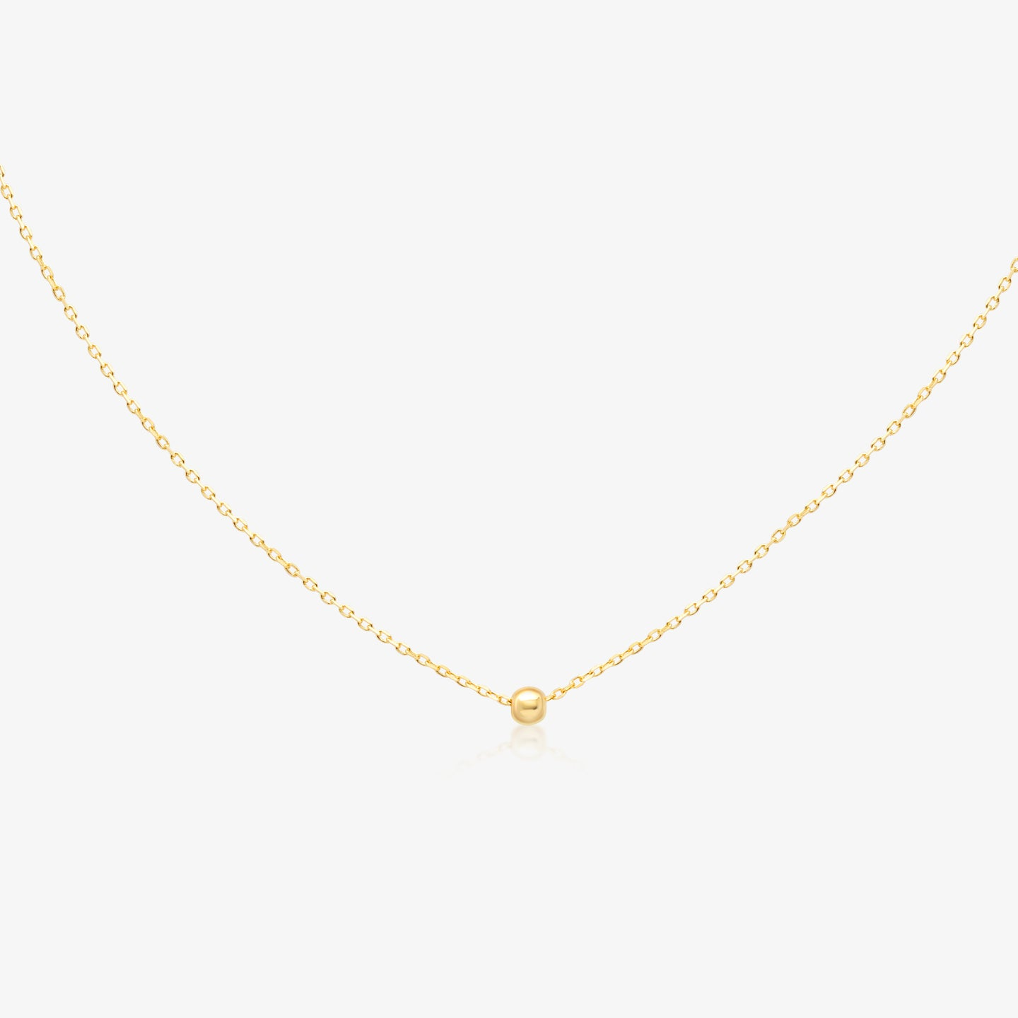 Gold Ball Chain Necklace - estellacollection