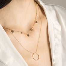 Load image into Gallery viewer, Lara - Eternity Circle Pendant Necklace - estellacollection