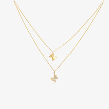 Load image into Gallery viewer, Lara - Layering Butterfly Necklace - estellacollection