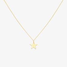 Load image into Gallery viewer, Lucky Star Solitaire Pendant Necklace - estellacollection