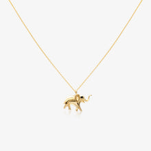 Load image into Gallery viewer, Lucky Elephant Pendant Necklace - estellacollection