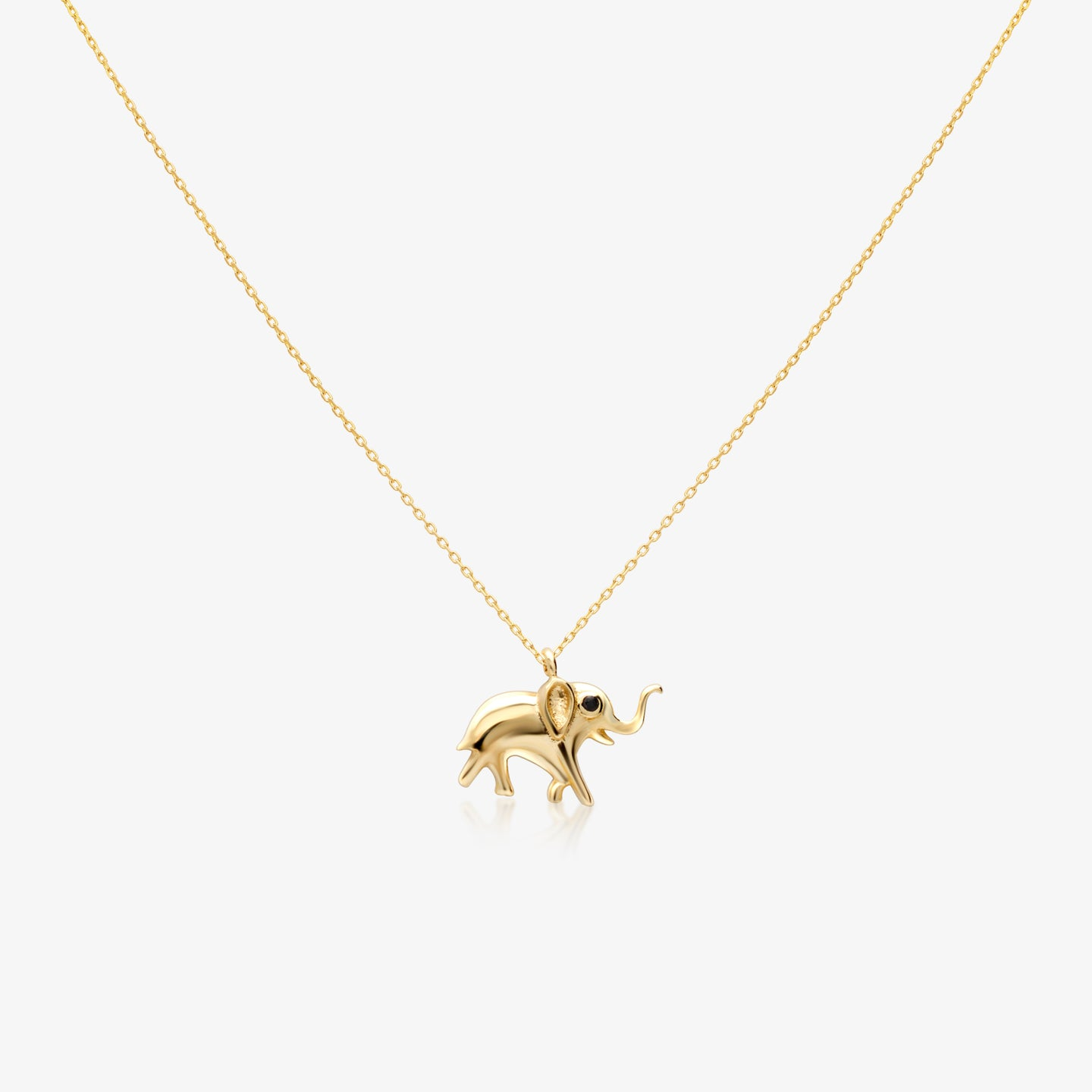 Lucky Elephant Pendant Necklace - estellacollection