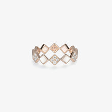 Load image into Gallery viewer, Diamond Fashion Band With Mother Of Pearl - estellacollection